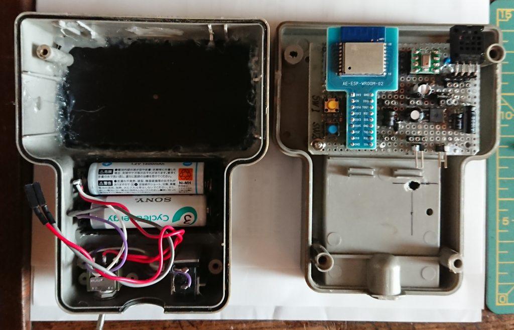 室外用(気圧:MPL115,気温湿度:AM2321)
