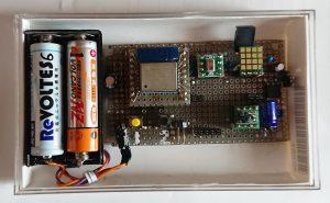室内用(気圧:MPL115,気温湿度:AM2320)